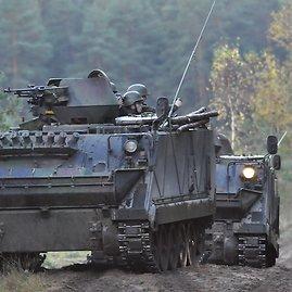Laimio Bratiko nuotr./Šarvuočiai M113
