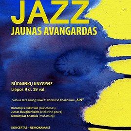 Nuodėmingo džiazo svaigulys: grupės SIN koncertas Rūdninkų knygyne