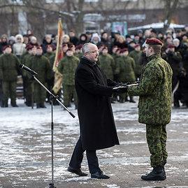 Alfredo Pliadžio nuotr./Minimas savanorių pajėgų 25-metis
