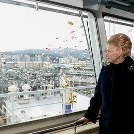 R.Dačkaus nuotr./Dalia Grybauskaitė Pietų Korėjoje