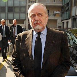 """Scanpix"" nuotr./""Napoli"" prezidentas Aurelio De Laurentiis"