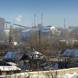 "AFP/""Scanpix"" nuotr./Avdijivko chemijos gamykla"