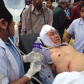"""Scanpix""/AP nuotr./Nepalo gatvės po žemės drebėjimo"