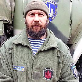 """Sulaikytas """"Tornado"""" bataliono kuopos vadas Ruslanas Oniščenka"""