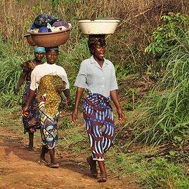 Asmeninė nuotrauka/Liberijos kontrastas – įspūdinga gamta ir slegiantis skurdas.