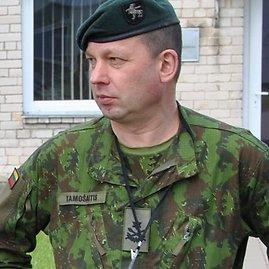 KAM nuotr./Lietuvos kariuomenės Jungtinio štabo viršininkas, brigados generolas Vilmantas Tamošaitis yra ir Greitojo reagavimo pajėgų vadas.
