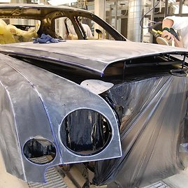 """caranddriver.com nuotr./""""Bentley Mulsanne"""" gamyba"""