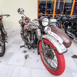 "Juliaus Kalinsko/15min.lt nuotr./""Douglas"" motociklas"