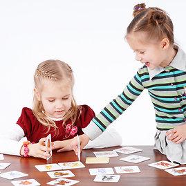 Projekto partnerio nuotr./Žaidžiantys vaikai