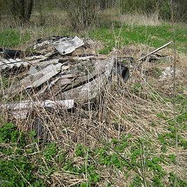 Roberto Grušausko nuotr./Šiukšlės Krekenavos regioniniame parke