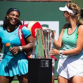 """Scanpix"" nuotr./Indian Velso moterų finalas: Serena Williams – Viktorija Azarenka"