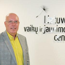 LVJC nuotr./Lietuvos vaikų ir jaunimo centro vadovas Valdas Jankauskas