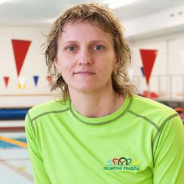"""""""Olimpinės pradžios"""" nuotr./Plaukimo trenerė Lina Bielinienė"""