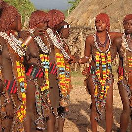 Asmeninio albumo nuotr./Etiopijos gentys