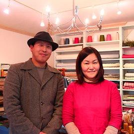 Asmeninio albumo nuotr./Kishiko Okuno su vyru