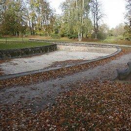 Poezijos parkas prieš rekonstrukciją