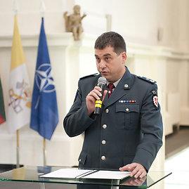 Butauto Barausko nuotr./ Policijos departameto Komunikacijos skyriaus viršininkas Ramūnas Matonis