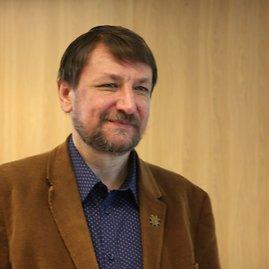 VIktorijos Karsokaitės / 15min nuotr./Lietuvos socialinių tyrimų centro (LSTC) vyresnysis mokslo darbuotojas daktaras Vidmantas Daugirdas.