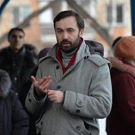 """""""Scanpix""""/""""RIA Novosti"""" nuotr./Rusijos Dūmos deputatas Ilja Ponomariovas."""