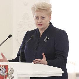 Valerijos Guiskajos/15min nuotr./Dalia Grybauskaitė