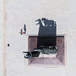 Irmanto Gelūno / 15min nuotr./Drono žvilgsnis į žemę 90 laipsnių kampu
