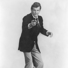 """""""Scanpix"""" nuotr./Trečiasis Bondas – Rogeris Moore'as"""