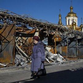 """Scanpix""/AP nuotr./Karo nuniokotas Doneckas"