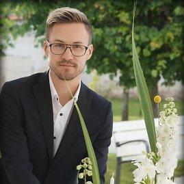 Artūro Bulotos nuotr./Floristas dizaineris Antanas Mažonas