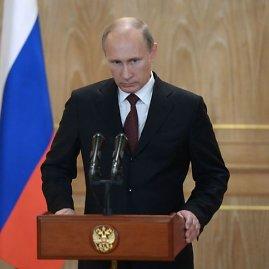 """""""Scanpix""""/""""RIA Novosti"""" nuotr./Rusijos prezidentas Vladimiras Putinas"""