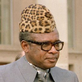 """Scanpix"" nuotr./Mobutu Sese Seko"