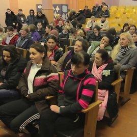 Stop kadras/Filmo peržiūra Panevėžio moterų pataisos namuose