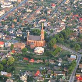 Roberto Tamulevičiaus nuotr./Lietuva iš oro: Rokiškis