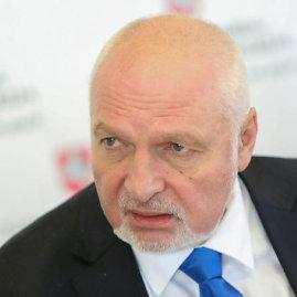 15min.lt/Juliaus Kalinsko nuotr./Aplinkos ministras Valentinas Mazuronis