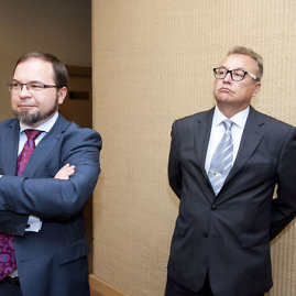Renatas Juška ir Arūnas Žurauskas