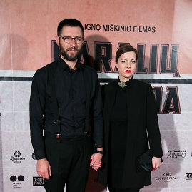 Juliaus Kalinsko / 15min nuotr./Ignas Miškinis su žmona Ieva