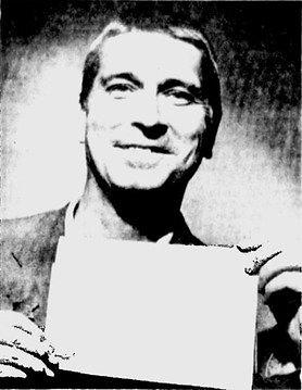 Huberto nuotrauka, panaudota 1964 m. straipsnyje