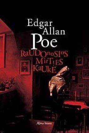 """Knygos viršelis/Knyga """"Raudonosios mirties kaukė"""""""