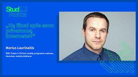 STUDFESTAS: Marius Laurinaitis – Ką žinai apie savo privatumą internete?
