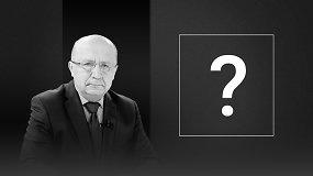 Andriaus Kubiliaus klausimas kandidatams