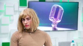 "15min studijoje Alen Chicco pristatė ""drag"" kultūros įkvėptą vaizdo klipą ""Your Cure"""