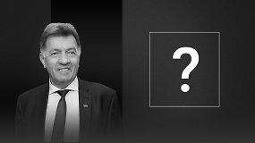 Algirdo Butkevičiaus klausimas kandidatams