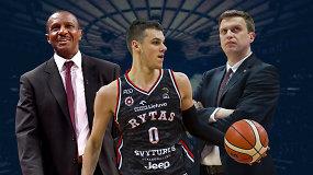"""""""Ginčas"""": ar esamo D.Sirvydžio progreso pakaks žaisti NBA?"""