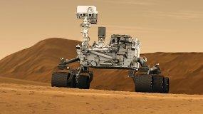 Marsaeigis CURIOSITY atsiuntė naujas judančių Marso kopų nuotraukas