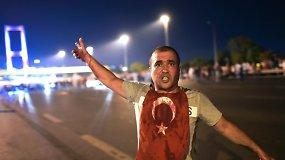 Valandos tikslumu: nepavykęs perversmas Turkijoje