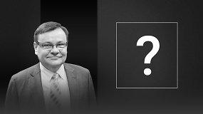 Vydo Gedvilo klausimas kandidatams