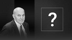 Alberto Šimėno klausimas kandidatams