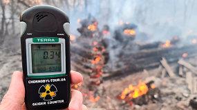 Fizikos mokslų daktarė ramina dėl gaisrų Černobylyje: nebus jokios papildomos apšvitos