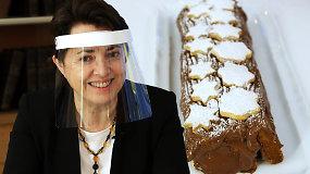 """Prancūziškos Kalėdos su austrėmis, """"foie gras"""" ir sūriais. Ambasadorė gamina tradicinį desertą"""