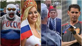 """""""Vieni vartai"""": rusų euforija, akibrokštas Maradonai ir ispanų drama"""