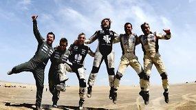 Džiaugsmingas lietuvių finišas Dakare – B.Vanagas pasiekė geriausią šalies rezultatą